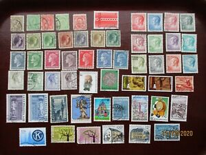 55  LUXEMBOURG STAMPS