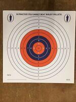 GENUINE BISLEY 14cm PLINKING PRACTISE SHOOTING TARGETS AIR GUN RIFLE ZEROING