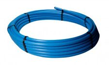 BLUE MDPE PLASTIC MAINS WATER PIPE 20MM 25MM 32MM 25m 50m 100m 150m Roll Coil