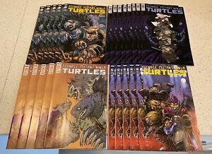 Teenage Mutant Ninja Turtles # 115 114 Lot Variants VF 23 Comic Lot IDW LEO RAPH