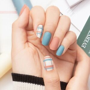 [GELATO FACTORY] New Real Gel Premium Nail 22 Stickers #Mix and Check