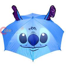 Disney Lilo and Stitch Umbrella 3D Stitch Face Large Umbrella