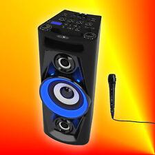 Reflexion PS07BT Discosoundmaschine Akku Bluetooth Karaokefunktion Licht USB MP3