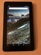 "Amazon Kindle Fire 7"" (5th Gen) Touchscreen 8 GB Tablet SV98LN Black"