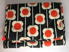 Orla Kiely etc Floral Hanging Valet Organizer Travel Cosmetic Make Up Case Bag