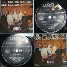 ABBA THE DAY BEFORE YOU CAME 1982 UNIQ PS UNIQ MATRIX ERROR POS-181 ARGENTINA!!!