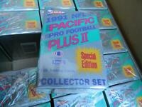 1991 PACIFIC PLUS II FACTORY FOOTBALL SET FAVRE ROOKIE AND OTHERS! HARD TO FIND