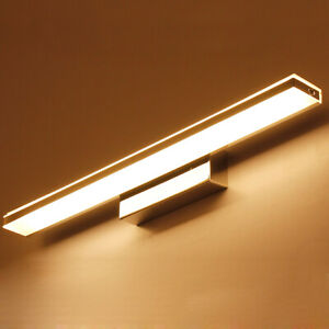 LED Wall Mount Light Fixture Mirror Front Lamp 2835 SMD Stainless steel Bathroom