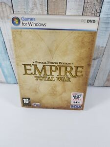 Empire Total War Special Force Edition  Pc  SEGA, 2009 Windows UK free delivery