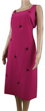Jacques Vert Ladies occasion dress Size 12 pink  Mother of Bride Races Cruise