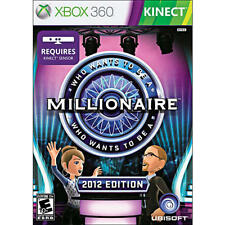 Who Wants to Be a Millionaire: 2012 Edition GAME (Xbox 360) **FREE SHIPPING!!