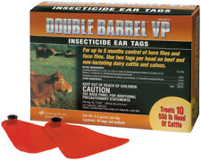 Double Barrel Vp - Insecticide Ear Tags 20ct