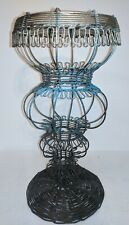 Wire Metal Gazing Ball Stand Outdoor Decorative 12 Inches X 6 Inches