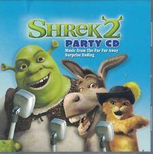 Shrek 2 Party CD with 6 Songs Sung by Shrek Characters & 6 Bonus Karaoke Tracks