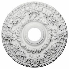 Ceiling Medallion for Chandelier Light Fixture, Hand Carved Fan Lamp Cover Decor
