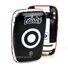 Fairtex KPLC1 Small Curved Muay Thai Kick Pads Boxing MMA Martial Arts Shield