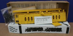 Front Range 4002 HO 63' Thrall Center Beam Lumber Car Kit Milw NIB Yellow