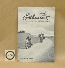 Vintage Harley Davidson Enthusiast Magazine November 1939 Christmas Catalog