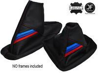 BLACK STITCH TOP GRAIN REAL LEATHER HANDBRAKE GAITER FITS BMW Z4 E85 E86 02-08