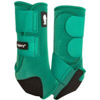 Classic Equine Legacy2 Horse Medicine SMB Sport Boots Emerald Green Front / Hind