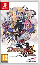 DISGAEA 4 COMPLETE+ A PROMISE OF SARDINES EDITION SWITCH GAME