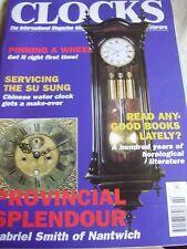 CLOCKS MAG FEBRUARY 2000 SERVICING SU SUNG SETH THOMAS STEEPLE COOKE OF YORK
