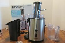 Courant NIB Power Juicer by Impecca CJP7500 2 Speed 750W Motor Stainless Blade