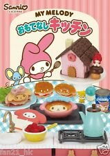 New!  Re-ment Miniature Sanrio My Melody Omotenashi Kitchen rement Full set of 8