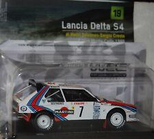 1:24 WRC Collection Lancia Delta S4 #7 Toivonen 1986