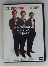 DVD ZE INCONNUS STORY - AU SECOURS TOUT VA MIEUX - BOURDON / LEGITIMUS / CAMPAN