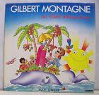 45T MAXI GILBERT MONTAGNE Disque Vinyle AU SOLEIL ROBINSON CRUSOE - CARRERE 8594