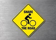 Share the road sticker quality 7 year vinyl non fade w/proof decal safety