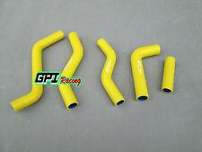 FOR Suzuki RMZ250 RM-Z250 2007 2008 2009 Silicone Radiator Hose yellow