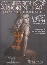 Confessioni di un cuore spezzato-Lindsay Lohan - 2005 ci SPARTITI MUSICALI
