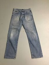 Mens HUGO BOSS 'ARKANSAS' Jeans - W34 L32 - Faded Navy Wash - Great Condition
