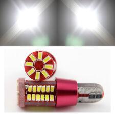 2pcs T10 W5W 194 3014 57SMD Canbus Error Free LED Car Indicator Turn Light Bulb