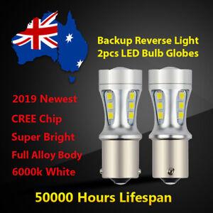For Holden Statesman WH WK WL Reverse Light Bulbs lamp 6000k White LED Globes 2x