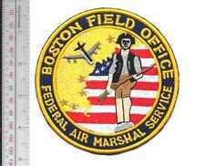 US Marshal Service USMS Massachusetts Boston Field Office Air Marshal vel hooks