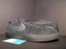 2015 Nike Dunk BLAZER LOW GT SB GRANT TAYLOR BLACK ANTHRACITE GREY 704939-002 10