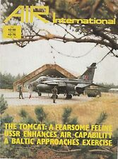Air International - Vol 22 No 1 - F-14 Tomcat - P-39 Aircobra - Amber Express