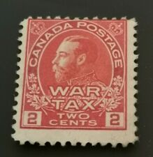 1915 : WAR TAX : 2c rose carmine : Mint Hinged