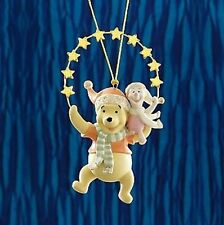 Lenox Disney Winnie the Pooh Piglet Reaching for the Stars Christmas Ornament