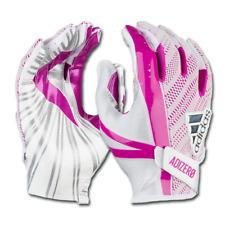 Adidas Adizero 5-Star 6.0 Football Gloves Grip Tack Silicone Palm White/Pink LG