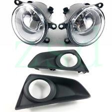 4x for Toyota Mark X 2013-2014 Car Front Left Right Side Fog Light Cover Bulbs