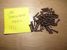 4BA  13/16 CHEESE HEAD STEEL SCREWS -185   SCREWS - LIVE STEAM