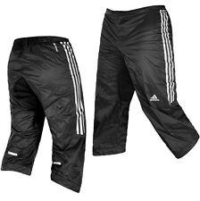 Adidas Herren 3/4 Radhose Sitzpolster Regenhose Fahrrad Hose Bike Shorts schwarz
