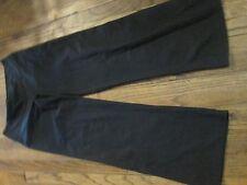 "NIKE womens szL ""DRI-FIT"" black athletic style pants"
