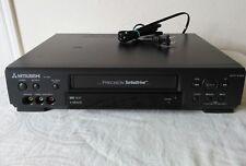 Lab Tested MITSUBISHI HS-U448 PRECISION TURBODRIVE Video Cassette Recorder