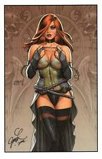 """JOSEPH LINSNER - SEXY  DAWN WITH CHAINS ART PRINT SDCC 2016 11""""x17"""""""