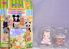 Sylvanian Families 5381 Serie 2 Shopping Seidenkatzen Baby mit Kasse NEU